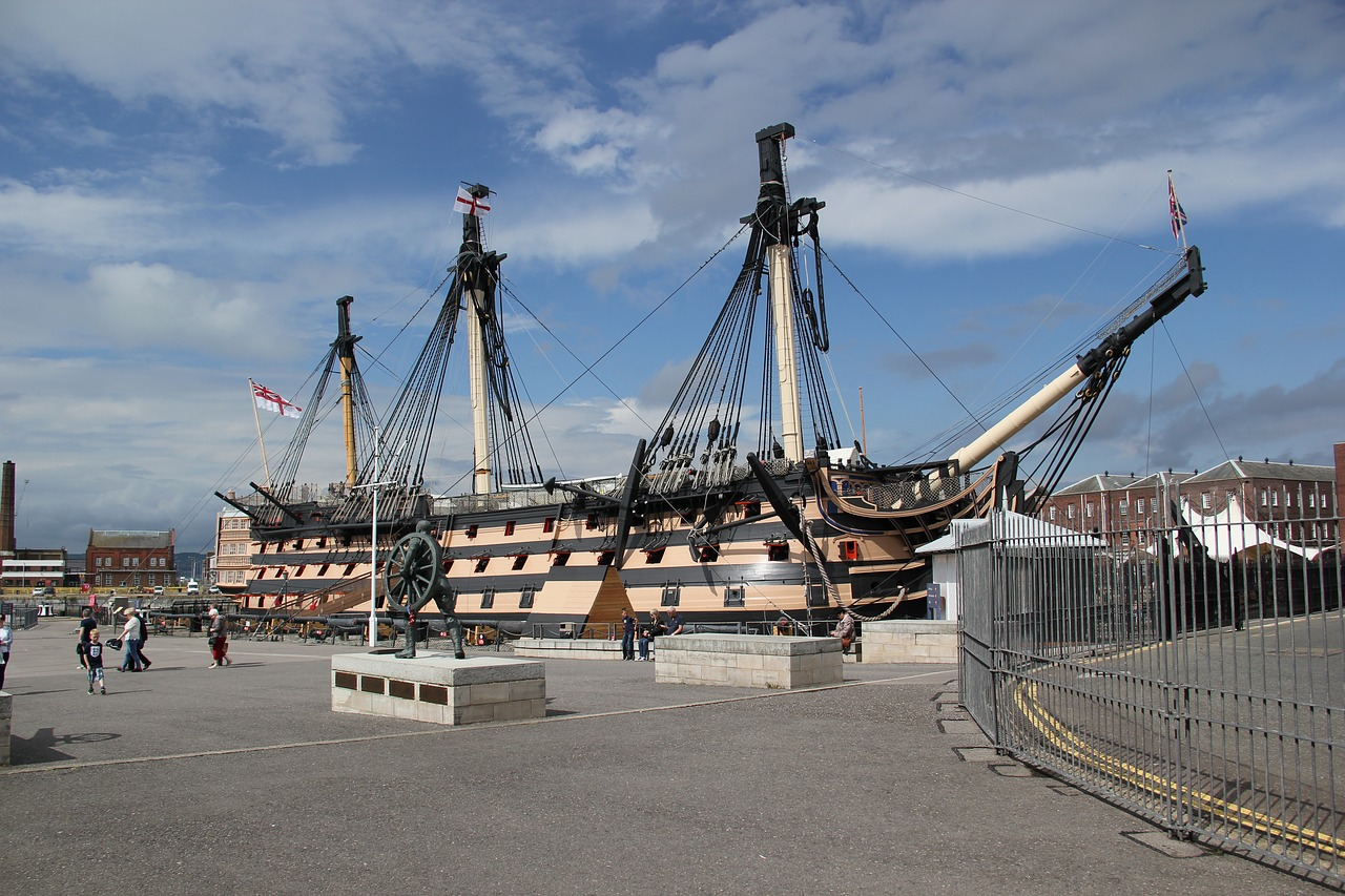Portsmouth Historic Dockyard things to do around hayling Island and The Oven Campsite